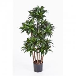 Kunstpflanze Dracaena Fragrans Compacta Textilpflanze 120 cm