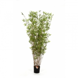Kunstpflanze Oriental Bamboo Tree Textilpflanze 160 cm
