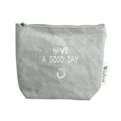 Body & Soul Kosmetiktasche Have a Good Day von Walra aus abwaschbarem Papier