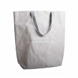 Shopping-Bag aus Papier Throw Kindness around like confetti waschbar reißfest Walra