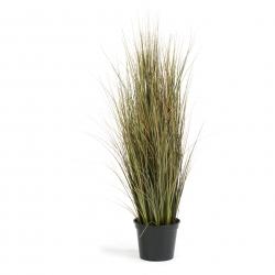 Kunstpflanze Zwiebelgras 90 cm