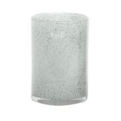 Dutz Vase White Bubbles zylindrische Form 18,5 cm