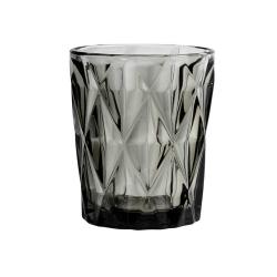Trinkglas in grau im Kristall-Look von NORDAL