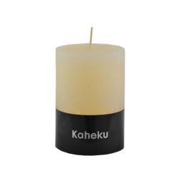 Kaheku-Kerze Cylinderkerze elfenbein 15 cm