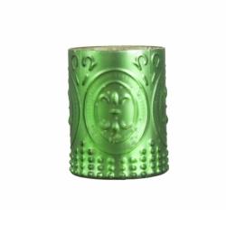 ESTELLE Windlicht grün schön verziert