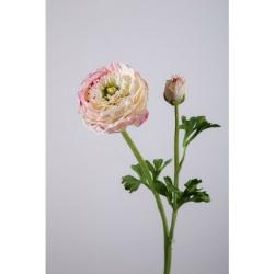Kunstblume Ranunkel einzeln hellrosa, rosé