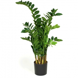 Kunstpflanze Zamioculcas Textilpflanze 110 cm hoch