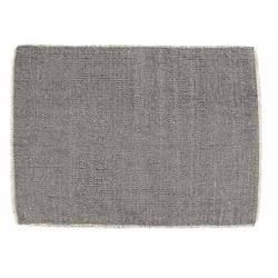 Tischset Platzdecke von Nordal Baumwolle grau creme 33x48 cm