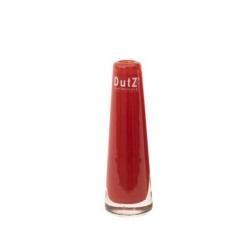 Dutz Vase Rot 15 cm kleine Glasvase Solifleur