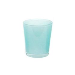 Dutz Vase conic blue Höhe 11 cm Durchmesser 9 cm hellblau